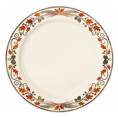 party city premium plastic dinner plates