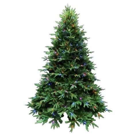 Homedepot Santasbest Splendor Spruce Artificial