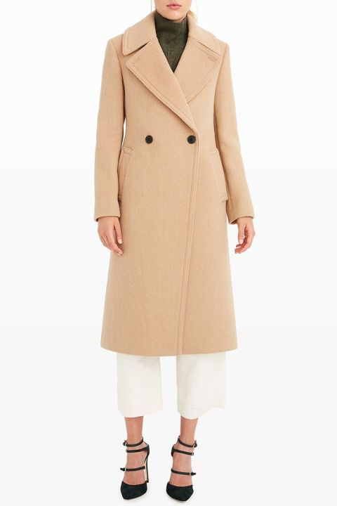 8 Best Camel Coats for Winter 2017 - Womens Double Breasted and