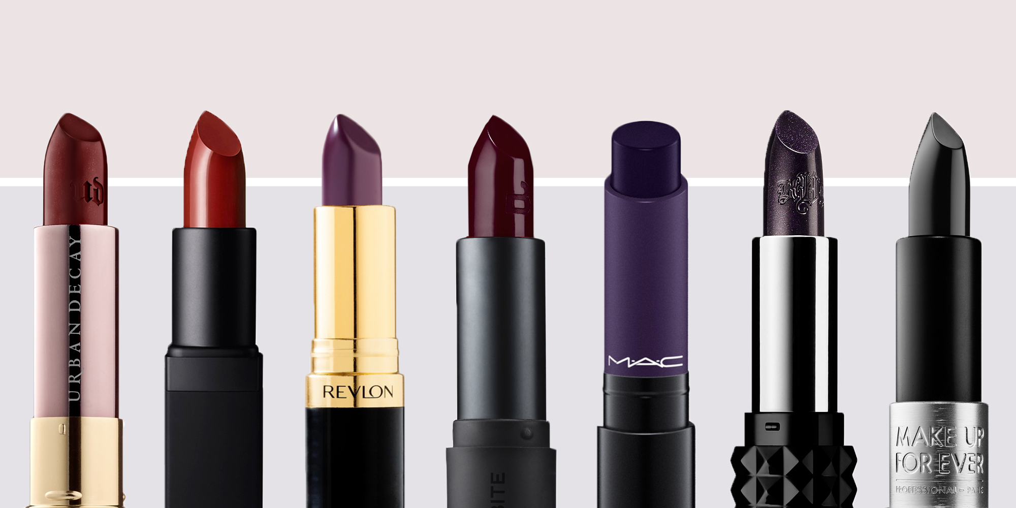 11 Best Dark Lipstick Shades For Summer 2017 Dark Red And Purple Lipsticks