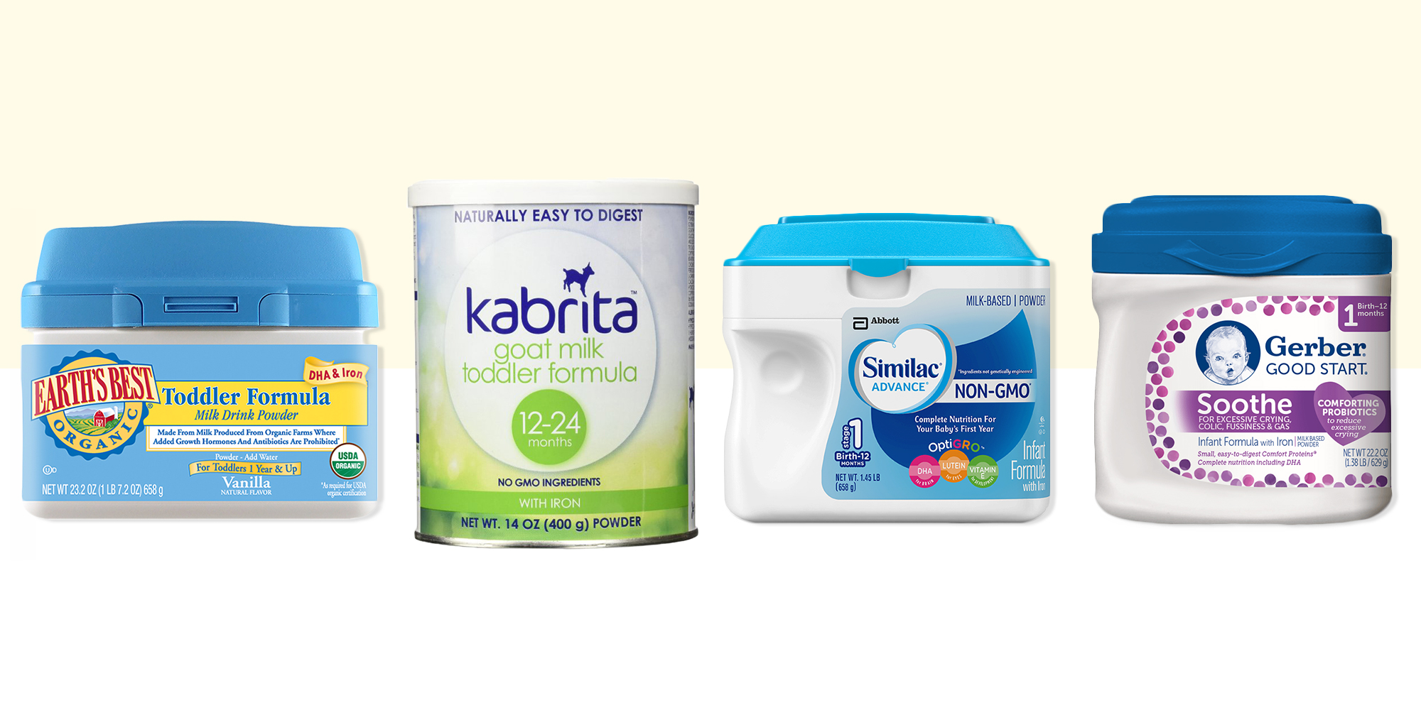 11 Best Baby Formula Brands In 2017 Organic Formula