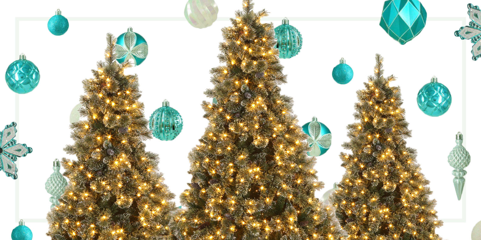 win an artificial christmas tree and ornament set giveaway from
