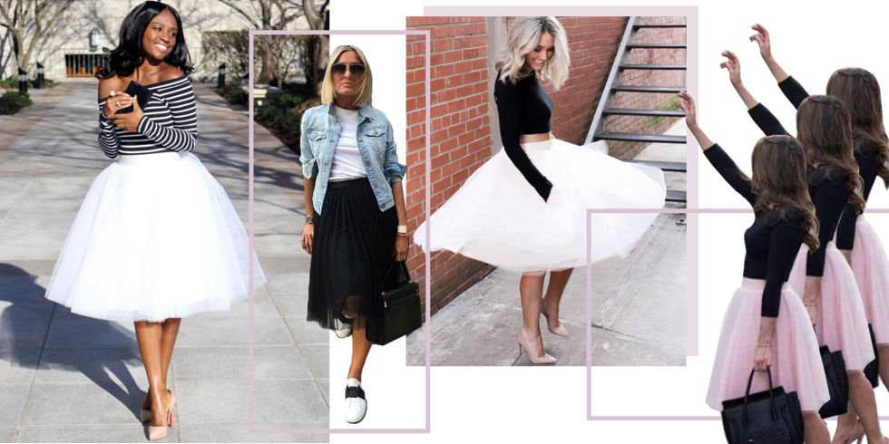 8 Ways To Wear A Tulle Skirt In 2018