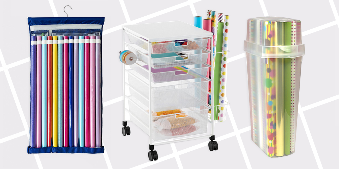 12 Best Wrapping Paper Organizers Amp Containers For 2018