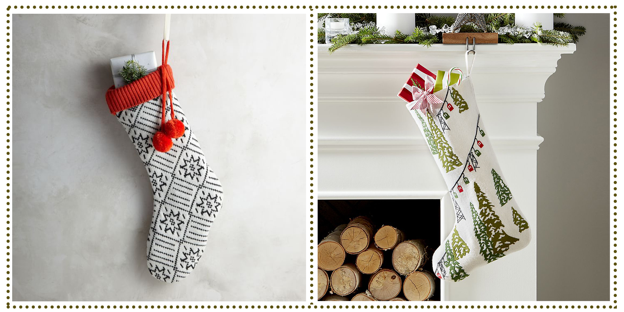 11 Best Christmas Stockings For 2017 Knit And