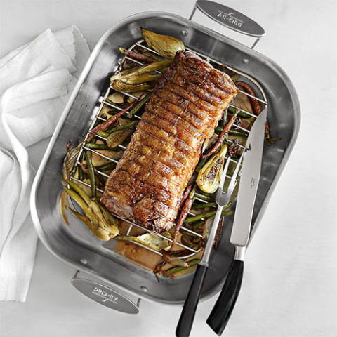 11 Best Roasting Pans For Cooking In 2018 Stainless