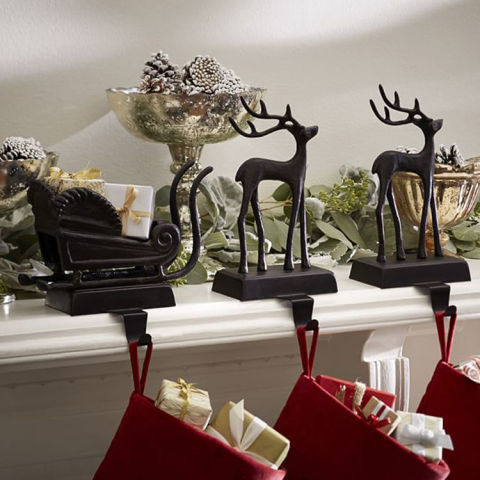 10 Best Christmas Stocking Hangers For The Mantel 2016
