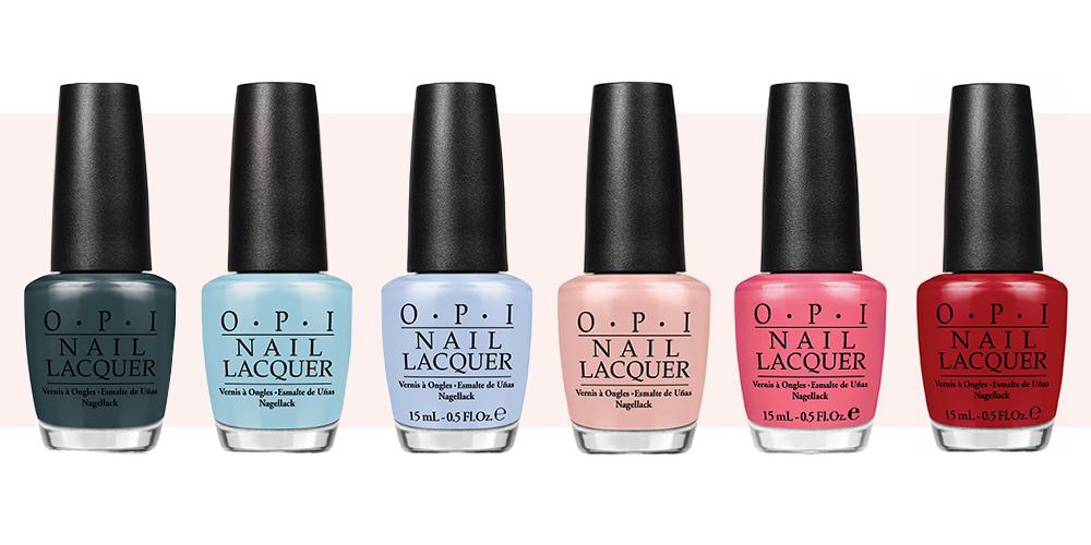 15 Best OPI Nail Polish Colors for 2017 - Top Selling OPI Nail Polish