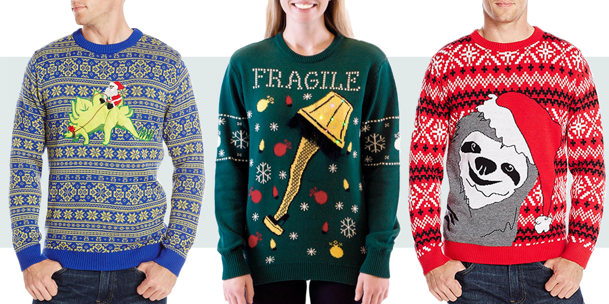 20 Best Ugly Christmas Sweaters to Wear in 2017 - Funny and Ugly Sweaters for Christmas
