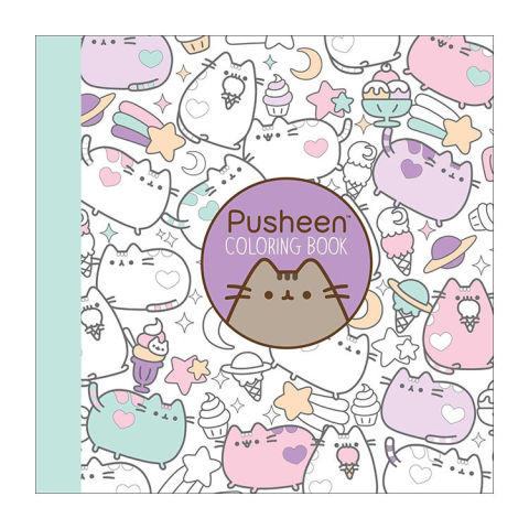 pusheen coloring book - Coloring Books