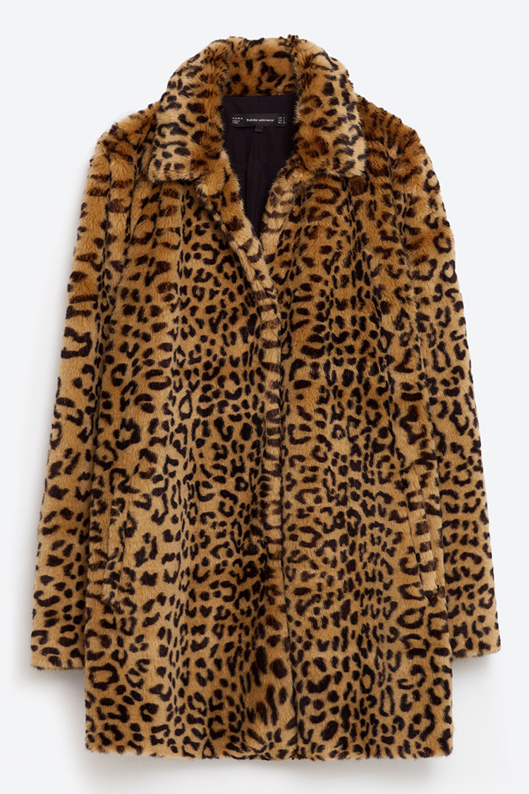 10 Best Leopard Coats For Winter 2017 Leopard Print Fur