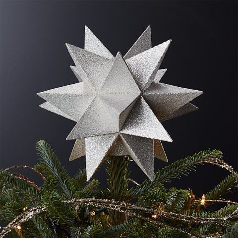 9 Best Christmas Tree Toppers For 2017 Tree Stars Angels And  - Christmas Tree Star