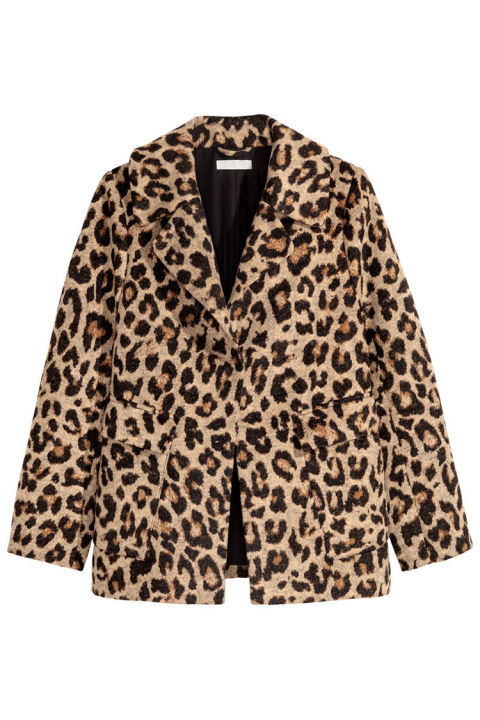 Trendy Topshop leopard animal print parka jacket coat Size 6 on the label this is oversized so would also fit a size 8 10 hooded In good condition This is a washed out lightweight cotton material Zip and press studs to fasten Press stud pockets Very festival boho look Great for this Autumn Comes from a smoke free home Having a family clear out.