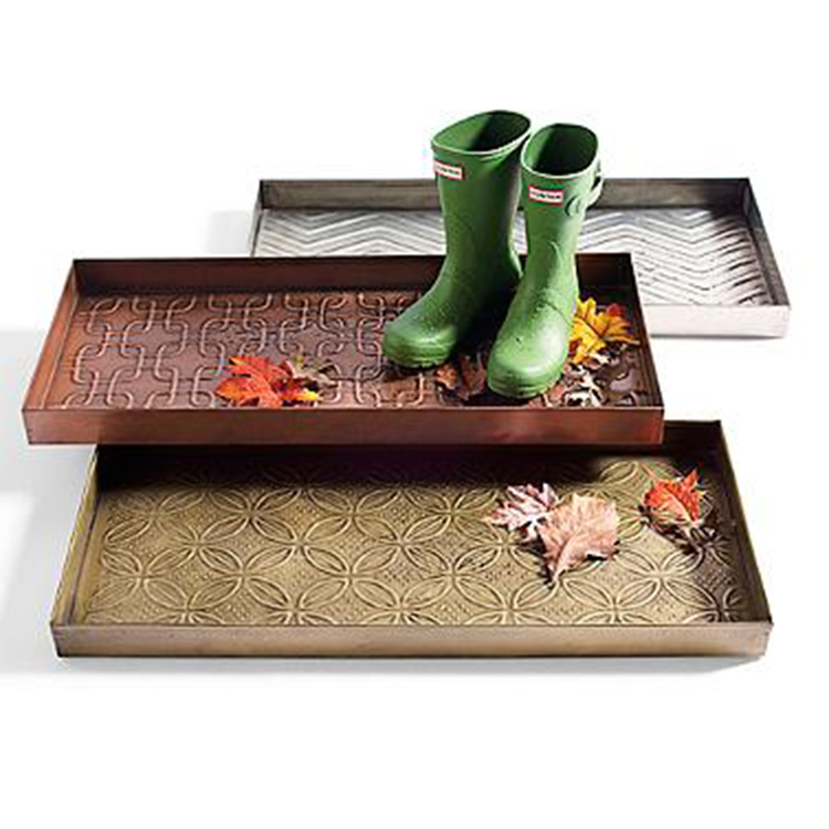 12 Best Boot Trays And Mats For Winter 2017 Metal And
