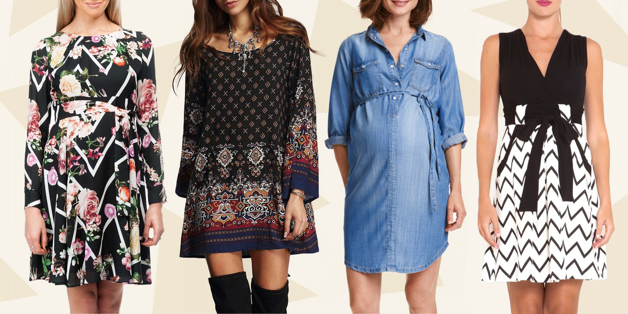 14 Best Maternity Dresses For Winter 2018 Baby Showers