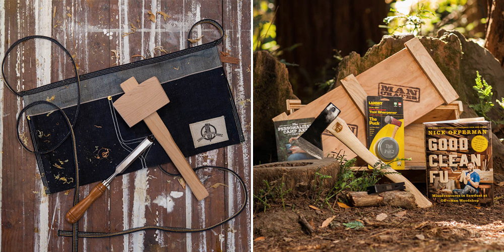 Man Crates and Nick Offerman Debut Woodworking and Whiskey Crates ...