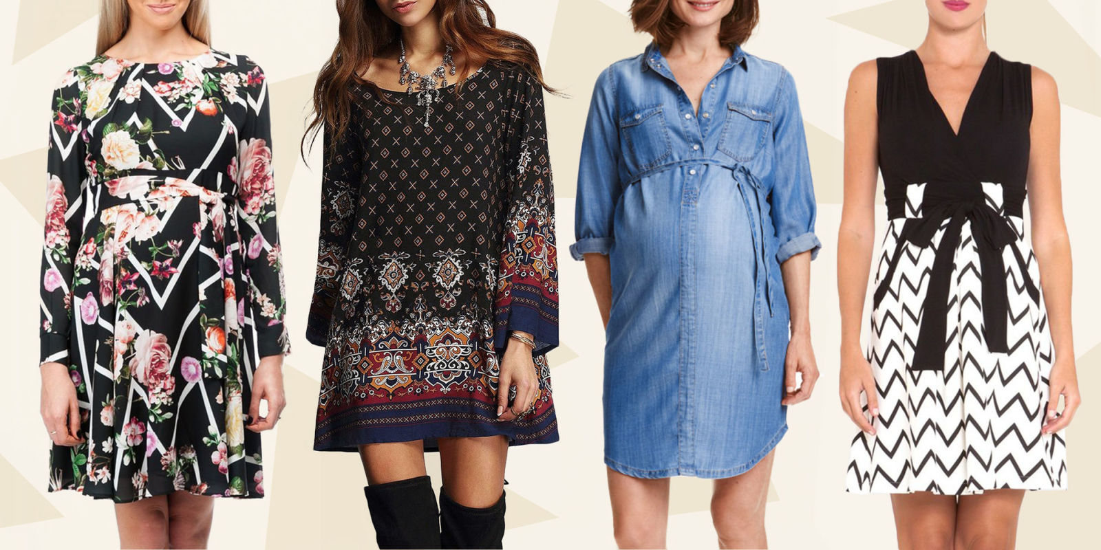 14 best maternity dresses for winter 2017 baby showers
