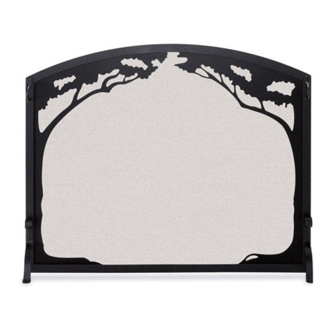 10 best fireplace screens for winter 2017 decorative Oak Fireplace Surround Oak Fireplace Surround