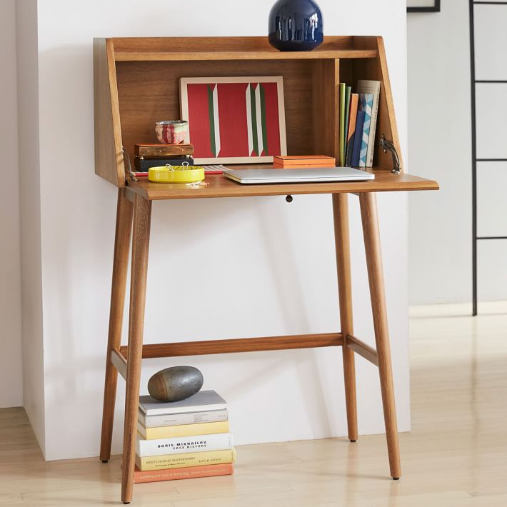 11 best secretary desks for small spaces in 2018 modern and small secretary desks - Secretary desk for small spaces property ...