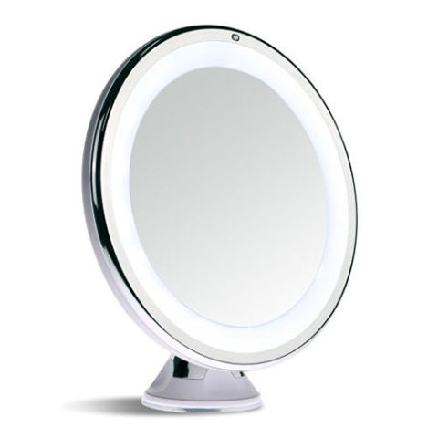 Sanheshun 7X Magnifying Lighted Travel Makeup Mirror. 12 Best Lighted Makeup Mirrors in 2017   Makeup and Vanity Mirrors