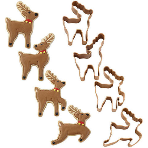 15 Best Christmas Cookie Cutters for 2017 - Festive Metal Cookie ...