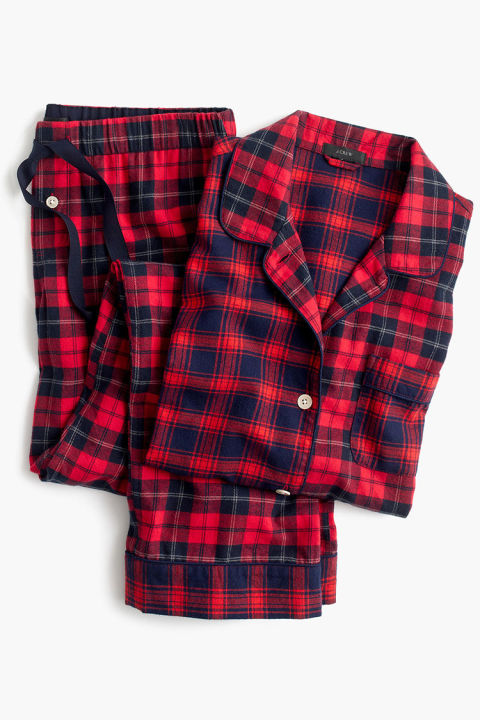 Womens Flannel Christmas Pajamas