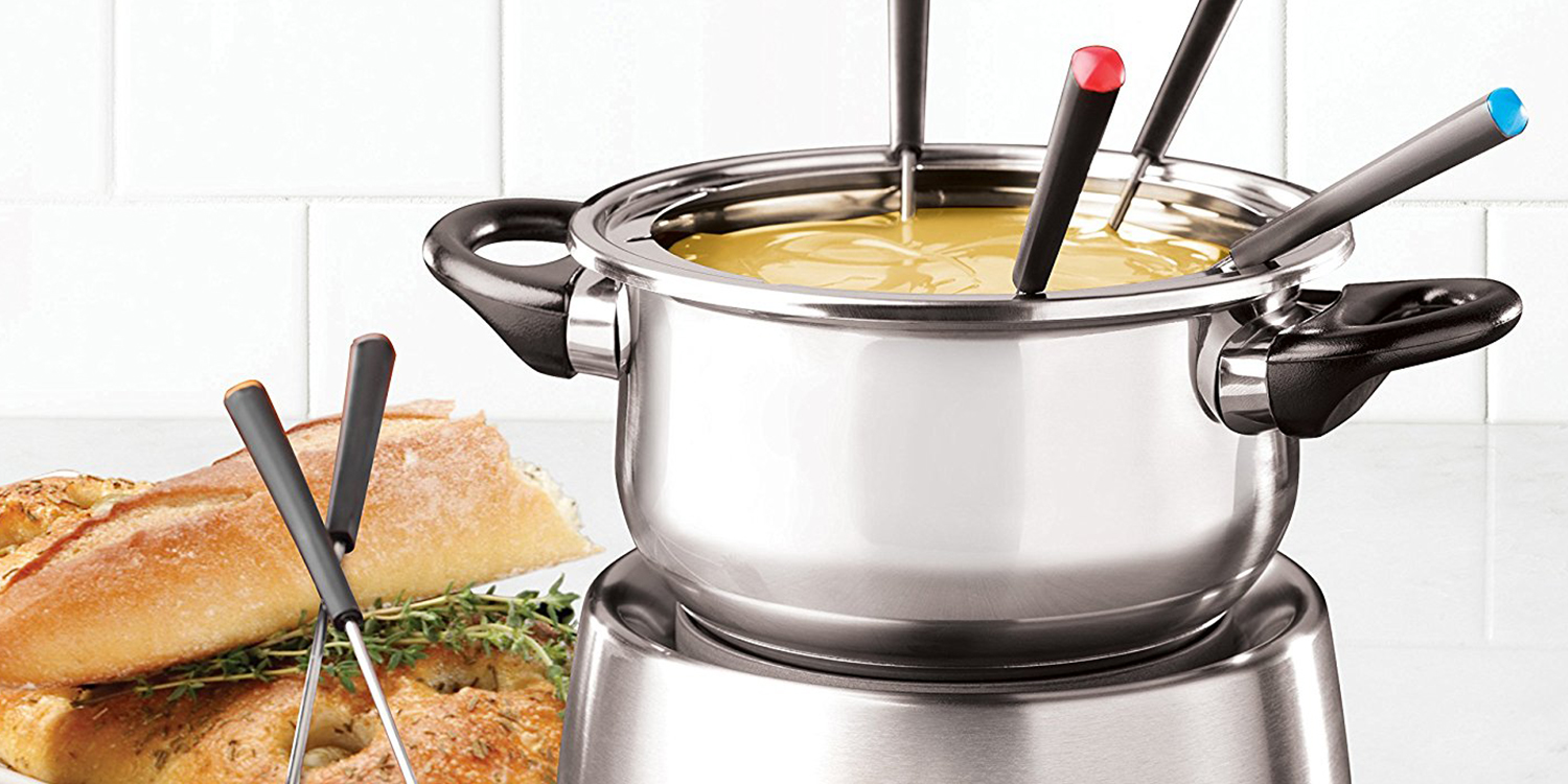 10 best fondue pots and sets for 2017 ceramic and electric fondue pots for entertaining