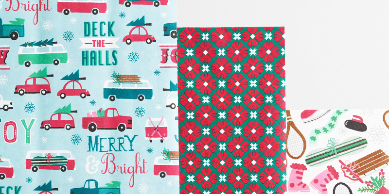 10 best christmas wrapping paper designs for 2017 for Best christmas wrapping paper