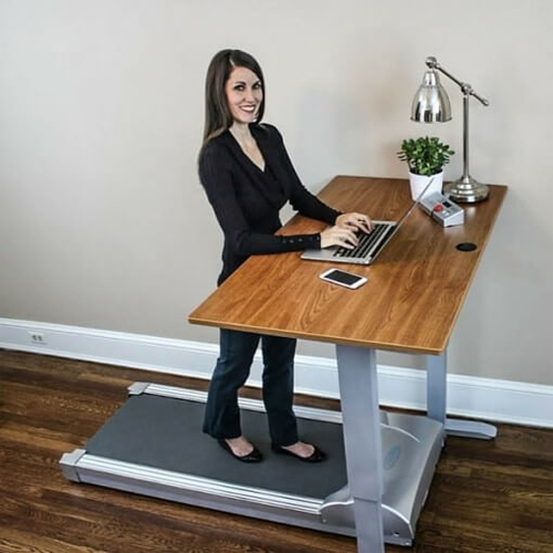 Treadmill For Desk At Work: 8 Best Treadmill Desks In 2017