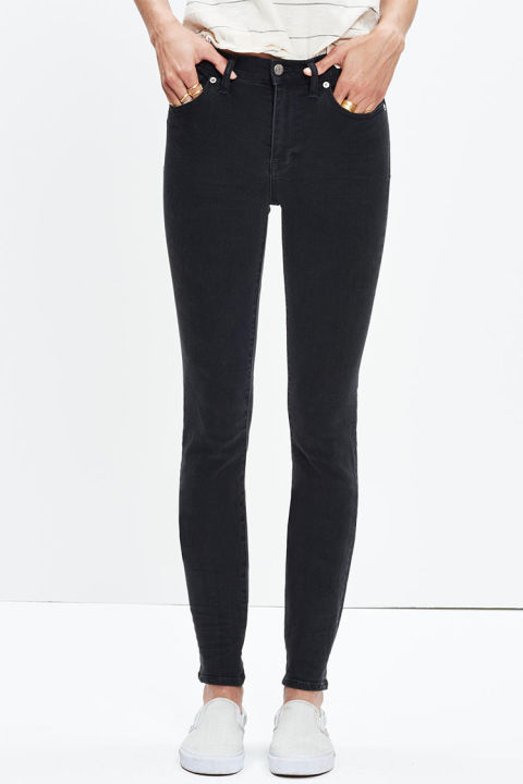 9 Best Black Skinny Jeans for Winter 2017 - Ripped and High Waist