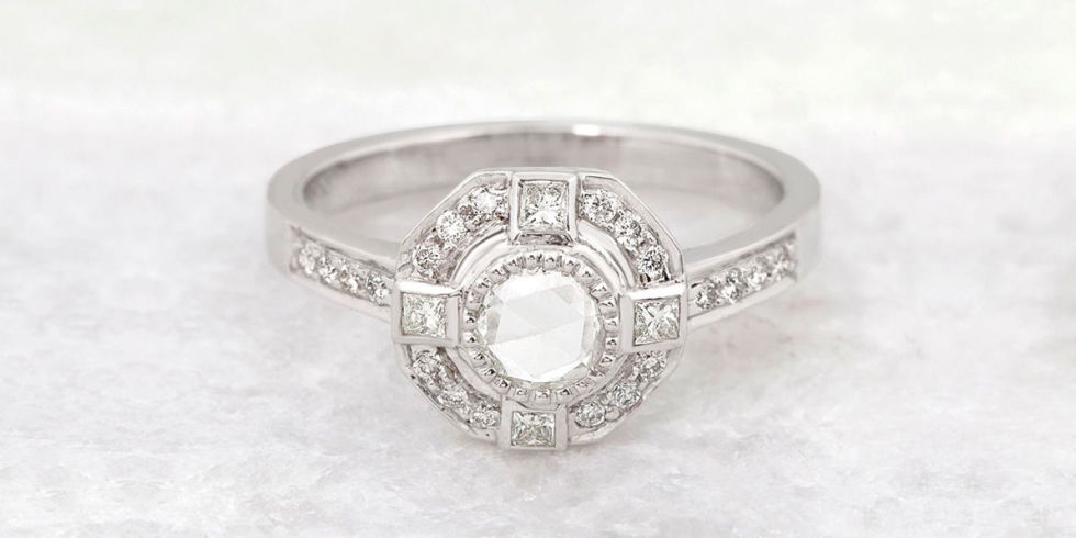 vintage engagement rings - Antique Style Wedding Rings
