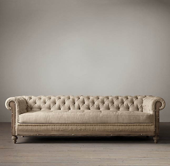 Restoration Hardware Sofa Collection: 10 Best Chesterfield Sofas In 2018