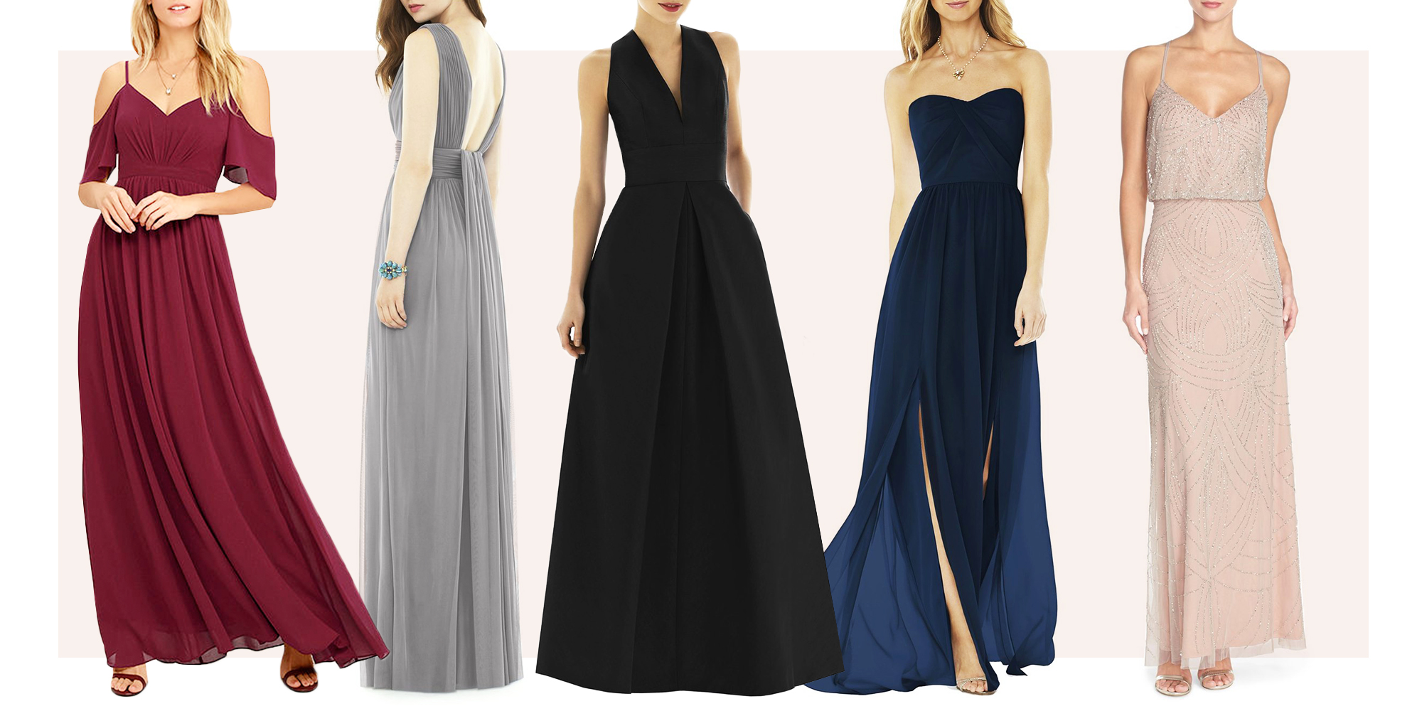 15 best bridesmaids dresses for 2018 beautiful winter