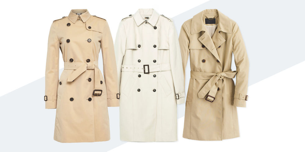 9 Best Trench Coats for Women in Winter 2017 - Classic Beige ...