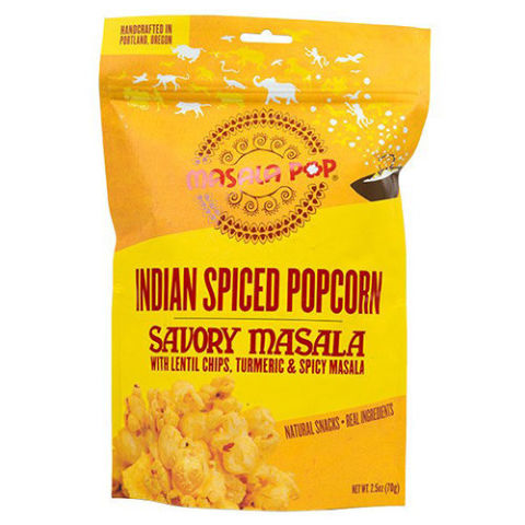 Masala Pop Savory Masala Indian Spiced Popcorn