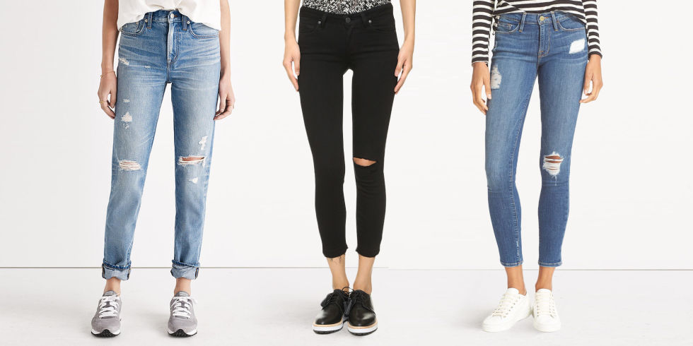 9 Best Distressed Jeans for Winter 2017 - Ripped Jeans and