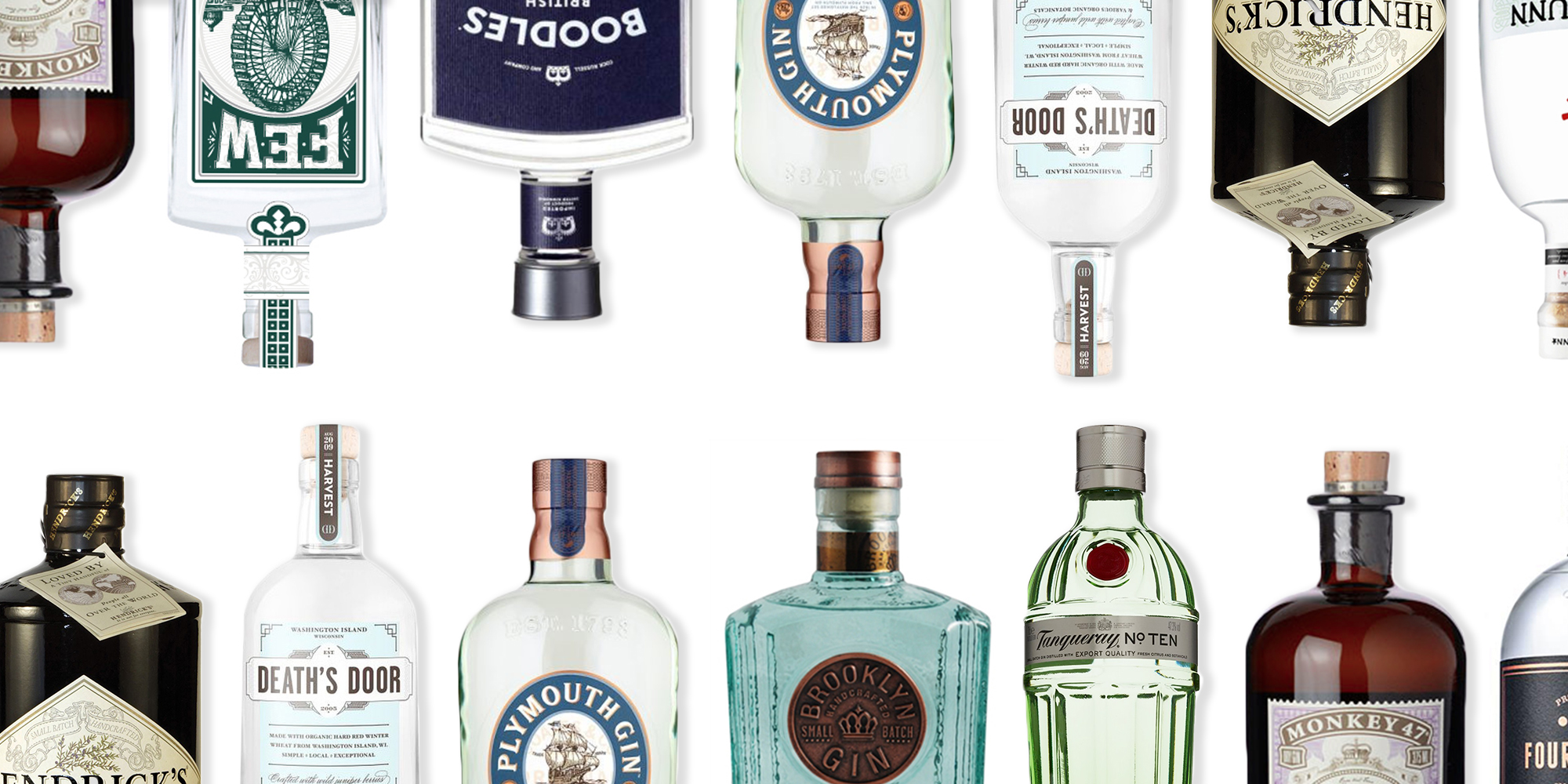 20 Best Gin Brands Of 2017 Our Favorite Gins For Cocktails