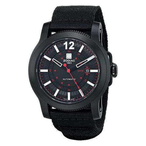 Zodiac Jet-O-Matic Black Watch