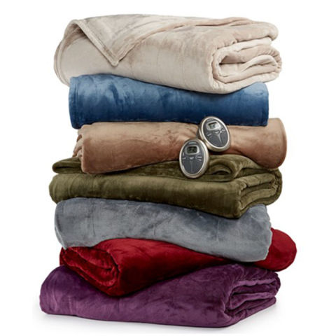 12 Best Heated Throw Blankets For 2017 Plush Electric