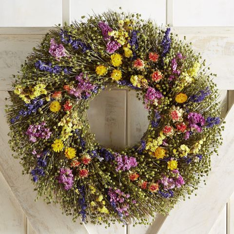 10 best spring wreaths for 2018 beautiful flower wreaths