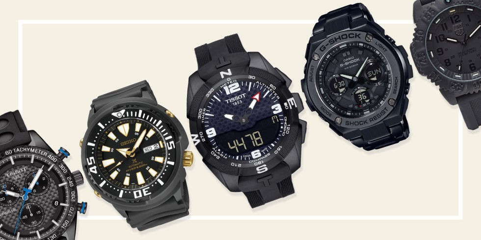 18 best black watches for men in 2017 stylish and affordable from divers to dress watches here are some of our favorite offerings