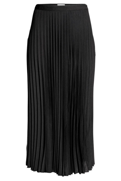 11 best pleated midi skirts for fall 2017 leather a