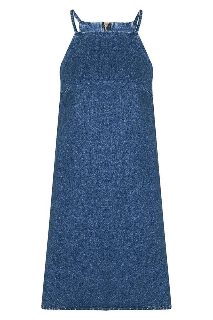 10 Best Denim Dresses For Summer 2017 Jean Chambray And