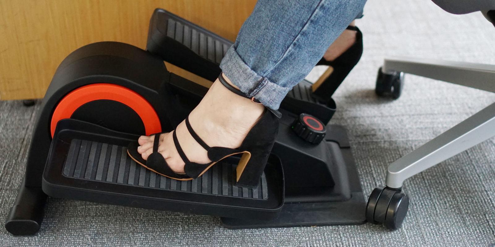 cubii under desk elliptical review how to burn calories while sitting