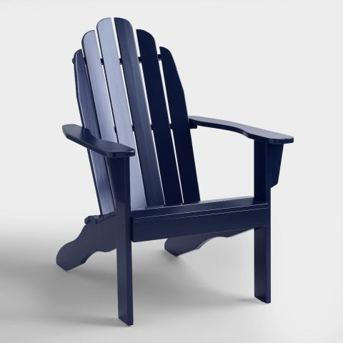 Worldmarket Peacoat Adirondack Chair