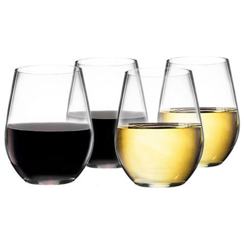 vivocci unbreakable plastic stemless wine glasses
