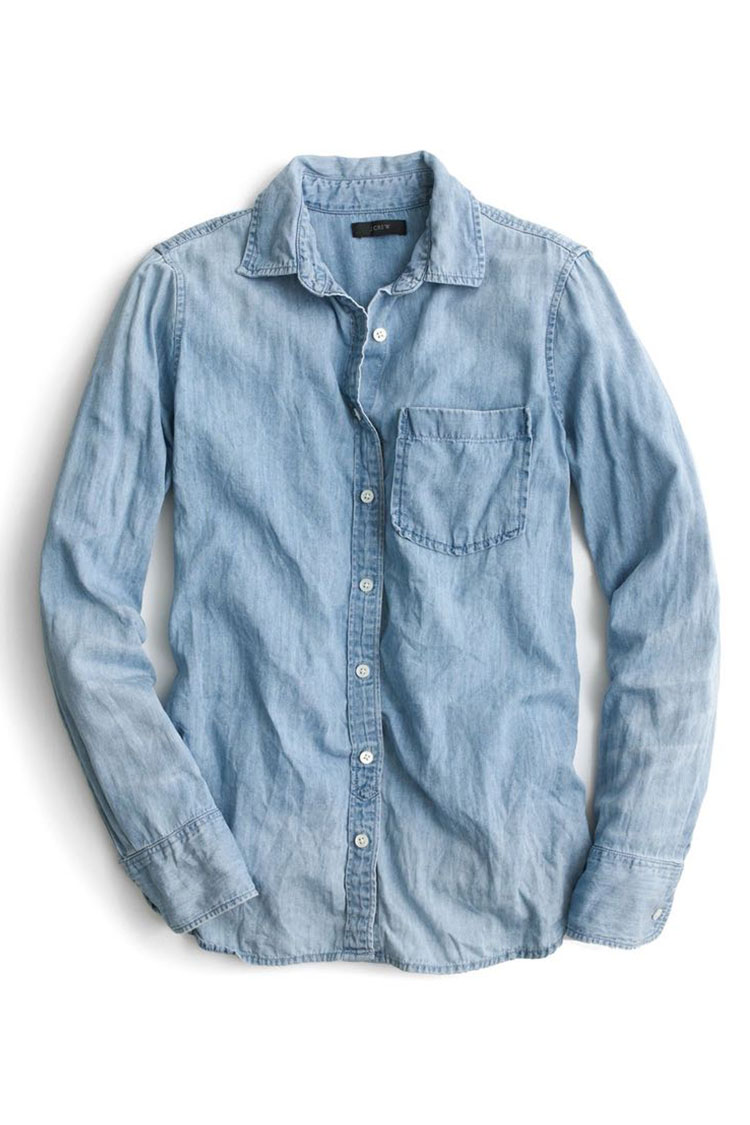 11 best chambray shirts for women 2018 denim chambray for Cuisine you chambray