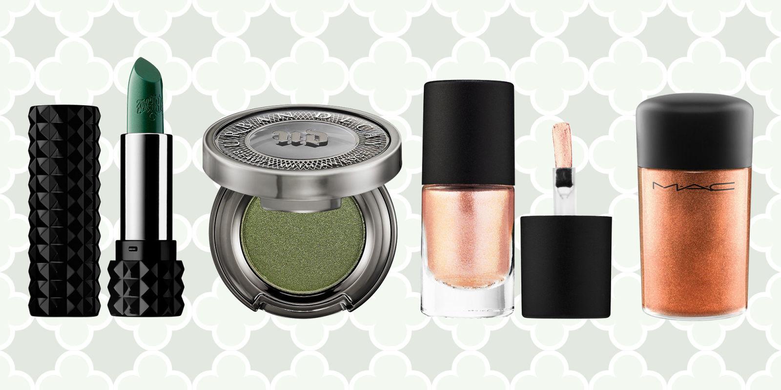 10 best st patricks day 2017 makeup looks green lipstick