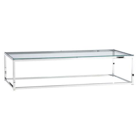 CB2 Smart Glass Top Coffee Table