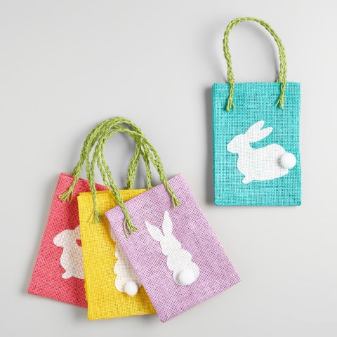 10 best easter baskets and bags in 2017 decorative easter basket world market woven bunny easter gift bags negle Images